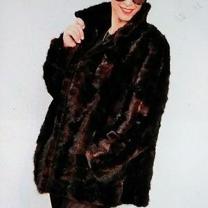 Jackets & Blazers - Beautiful Real Fur Mink Coat